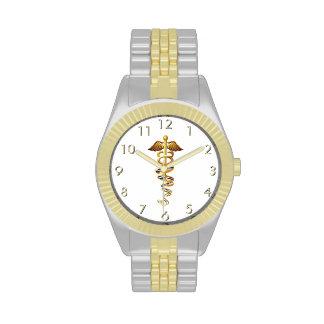 Insignias médicas relojes