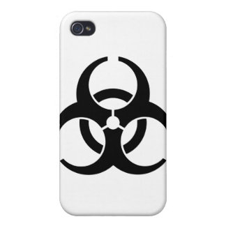 Insignias universales del Biohazard iPhone 4/4S Funda