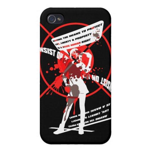 ¡Insist_On_It! iPhone 4 Carcasas