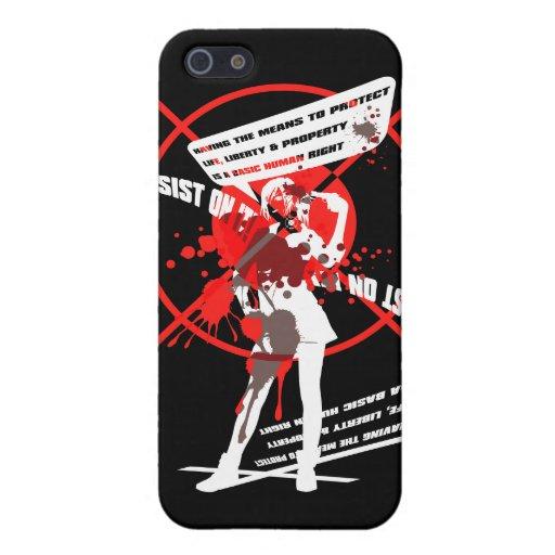 Insist_On_It! iPhone 5 Case