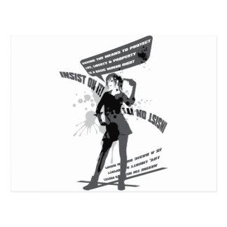 Insist_On_It! Postcard