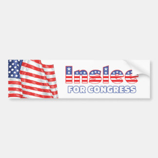 Inslee for Congress Patriotic American Flag Bumper Stickers