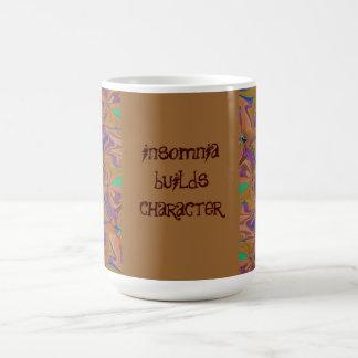 insomnia builds characters coffee mug