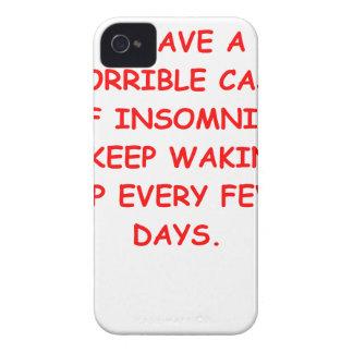 INSOMNIa Case-Mate iPhone 4 Case