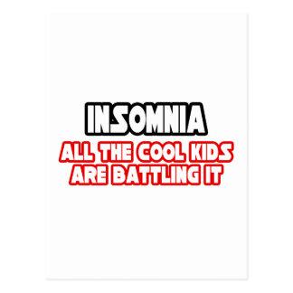 Insomnia...Cool Kids Postcard