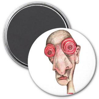 Insomniac 3 Inch Round Magnet