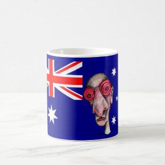 Insomniac goes to Australia Coffee Mugs