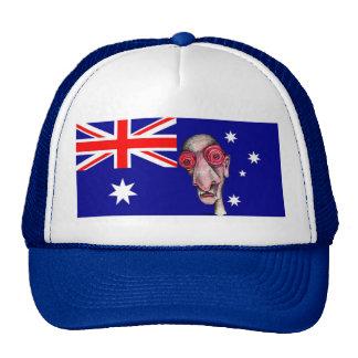 Insomniac Goes to Australia Trucker Hat