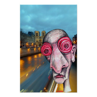Insomniac Headed For Notre Dame Print