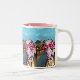 Insomniac Headed for Notre Dame Two-Tone Coffee Mug