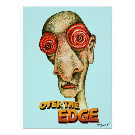 Insomniac Over The Edge Poster
