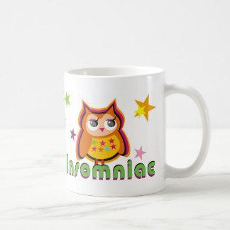 Insomniac Owl Coffee Mug