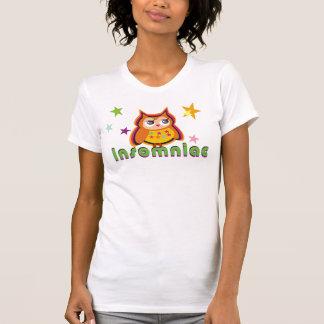 Insomniac Owl Ladies Tee Shirt