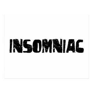 Insomniac Postcard