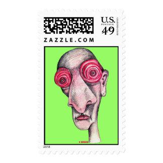 Insomniac Stamp