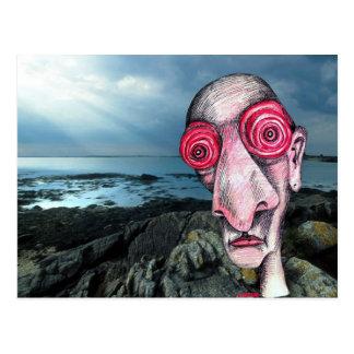 Insomniac Visits Coast at Sene Postcard