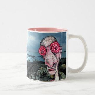 Insomniac Visits Coast at Sene Two-Tone Coffee Mug