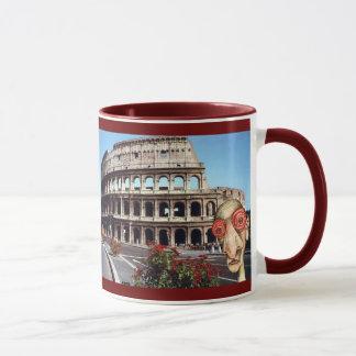 Insomniac Visits Rome Colisseum Mug