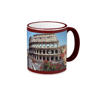 Insomniac Visits Rome Colisseum Coffee Mug
