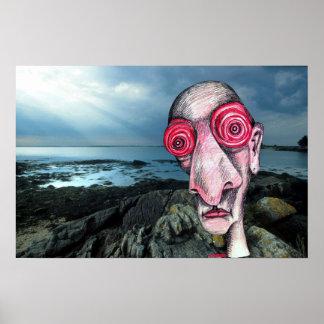 Insomniac Visits The Coast at Sene Poster