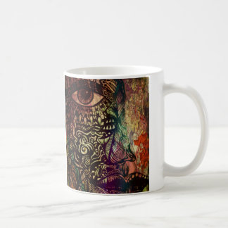 Insomniacs drink coffee. mugs
