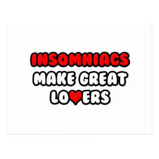 Insomniacs Make Great Lovers Postcard