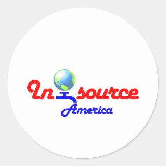 Insource America Sticker