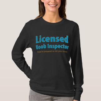 Inspector autorizado del Boob Playera