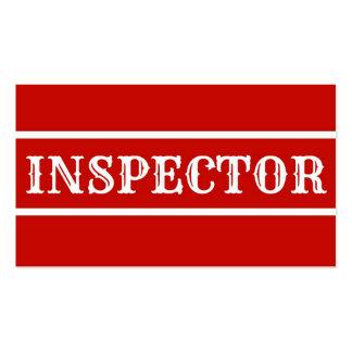 Inspector Business Card