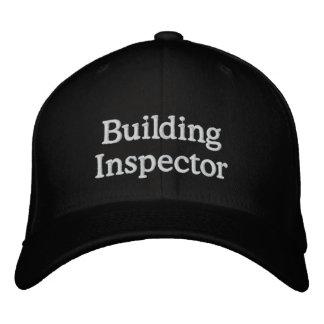 Inspector de construcción gorra de béisbol bordada
