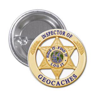 Inspector de Geocache - piel hallazgo insignia d Pin