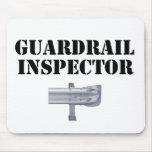 ¡Inspector de la barandilla! Alfombrilla De Ratón