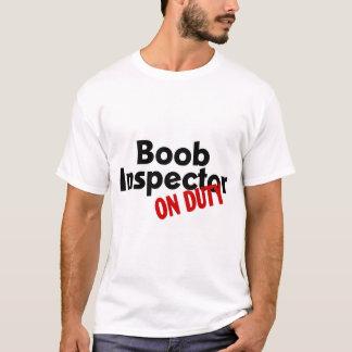 Inspector del Boob de servicio Playera