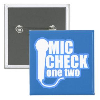 Inspector del micrófono pin cuadrada 5 cm