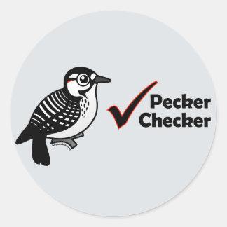 Inspector del picoteador etiquetas
