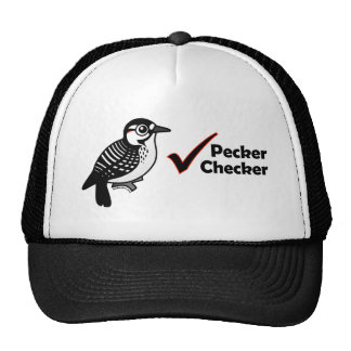 Inspector del picoteador gorra