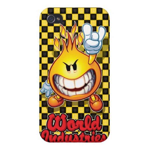Inspector Flameboy iPhone 4 Cárcasas