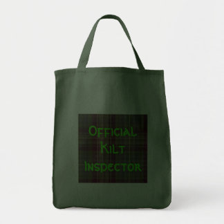 """Inspector oficial de la falda escocesa "" Bolsa"