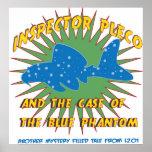 Inspector Pleco Fish poster