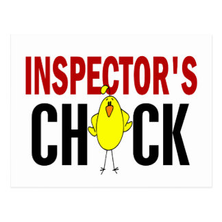 INSPECTOR'S CHICK POST CARD