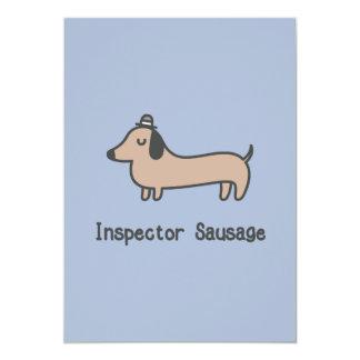 Inspector Sausage Card