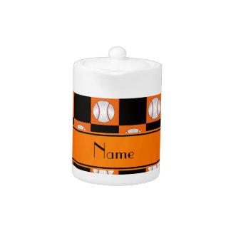 Inspectores anaranjados conocidos personalizados