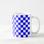 Inspectores azules tazas de café