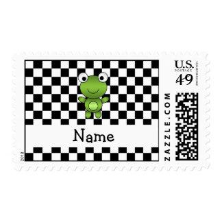 Inspectores blancos y negros personalizados de la sellos