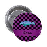 Inspectores conocidos personalizados de la púrpura pins