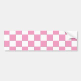 Inspectores de Pink&White Pegatina Para Auto