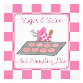 Inspectores del azúcar y de la especia y fiesta de invitación personalizada