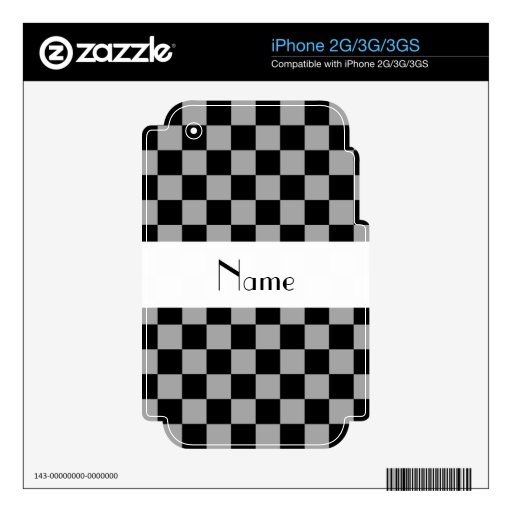 Inspectores grises conocidos personalizados iPhone 2G skins