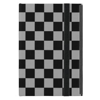 Inspectores negros en fondo gris iPad mini funda