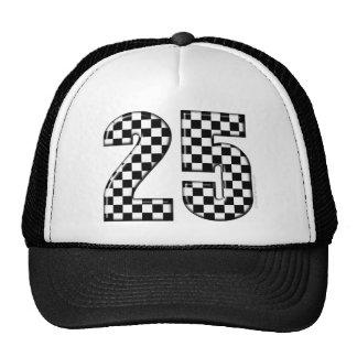 inspectores número 25 el competir con auto gorra